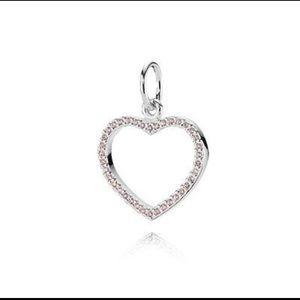 PANDORA Be My Valentine Heart Pendant